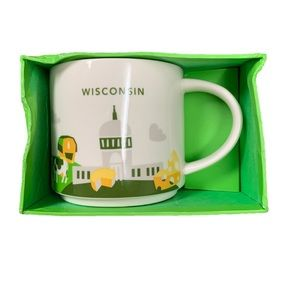 Starbucks Collectible You Are Here Wisconsin Mug